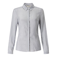 Buy Miss Selfridge Stripe Tie Back Shirt, Multi Online at johnlewis.com