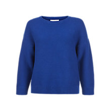 Buy Hobbs Corrie Jumper, Cobalt Blue Online at johnlewis.com