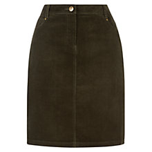 Buy Hobbs Marian Skirt, Khaki Online at johnlewis.com