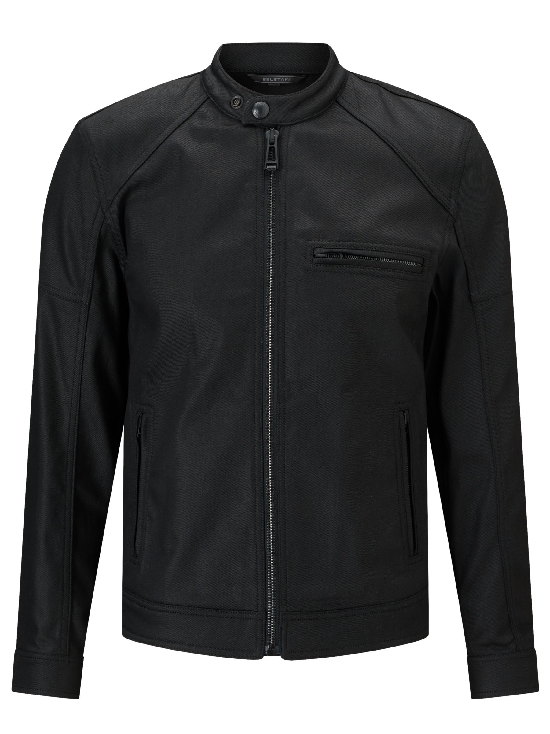Belstaff Belstaff Beckford Cotton Twill Waxed Jacket, Black
