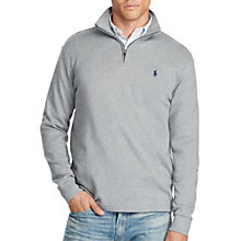 Buy Polo Ralph Lauren Cotton Half-Zip Jumper Online at johnlewis.com