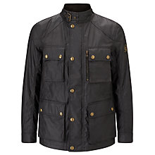 Buy Belstaff Trialmaster 4-Pocket Water Resistant Waxed Jacket Online at johnlewis.com