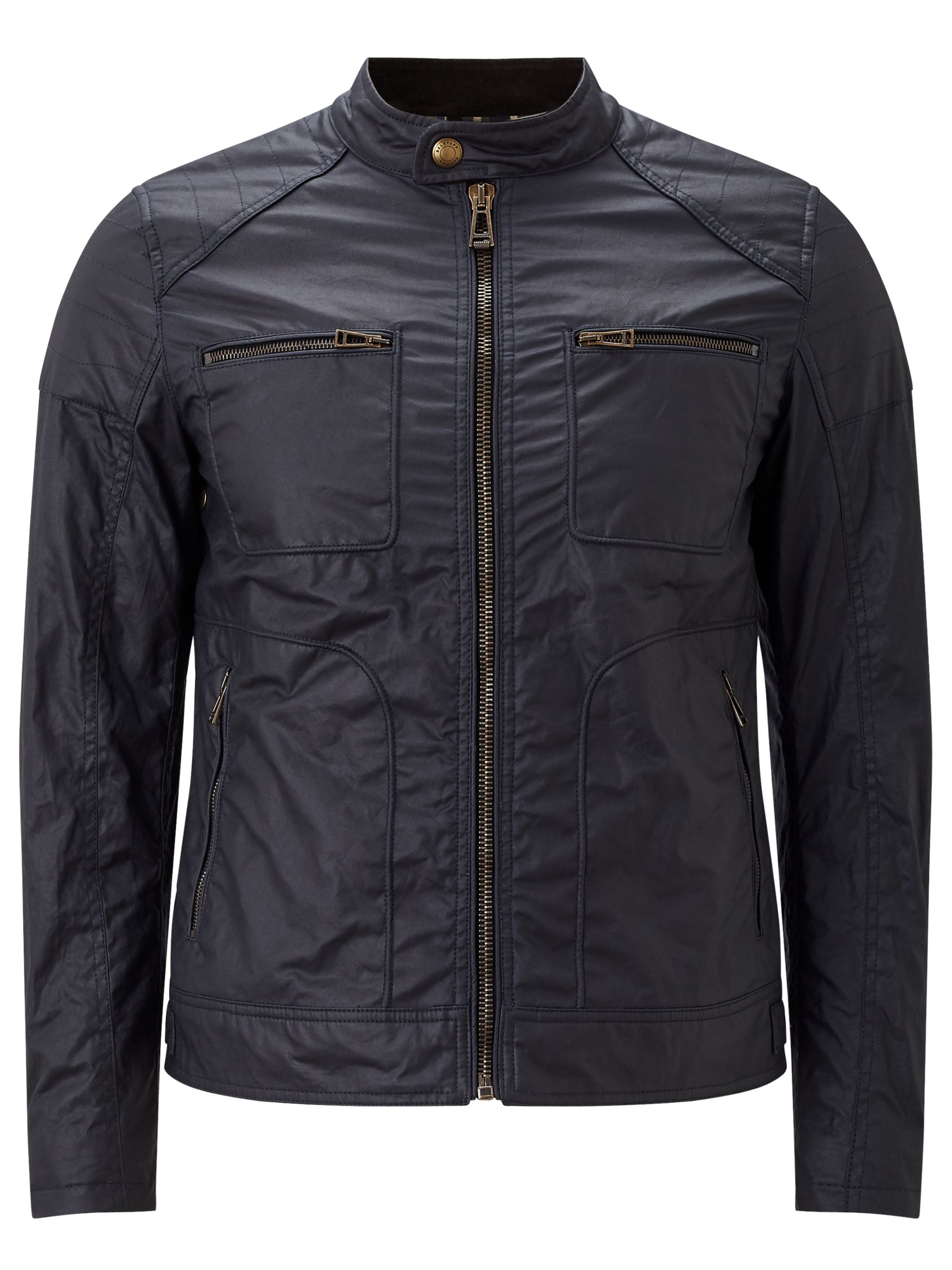 Belstaff Belstaff Weybridge Wax Cotton Jacket, Dark Navy