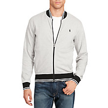 Buy Polo Ralph Lauren Long Sleeve Bomber Jacket Online at johnlewis.com