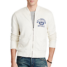 Buy Polo Ralph Lauren Cotton-Blend Baseball Jacket, Nevis Online at johnlewis.com