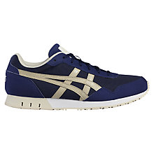 Buy Asics Tiger Curreo Women's Trainers, Blue Online at johnlewis.com
