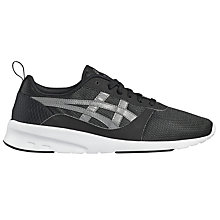 Buy Asics Lyte Jogger Men's Trainers, Black Online at johnlewis.com
