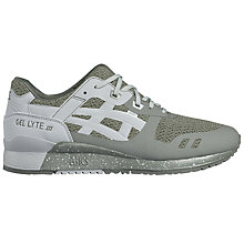 Buy Asics Tiger GEL-Lyte III Men's Trainers, Green/Grey Online at johnlewis.com