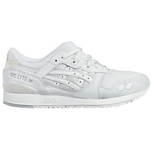 Buy Asics Tiger GEL-Lyte III Men's Trainers, White Online at johnlewis.com