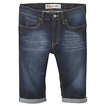 Buy Levi's Boys' 511 Slim Fit Bermuda Shorts, Indigo Online at johnlewis.com