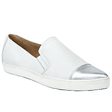 Buy Kin by John Lewis Elin Slip On Trainers, White Online at johnlewis.com