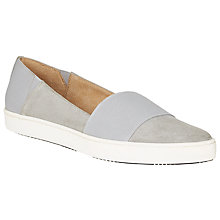 Buy Kin by John Lewis Eli Pointed Toe Slip On Trainers, Grey Online at johnlewis.com