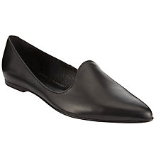 Buy John Lewis Helina Closed Pumps, Black Online at johnlewis.com