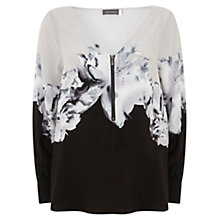 Buy Mint Velvet Petra Print Bishop Sleeve Blouse, Multi Online at johnlewis.com