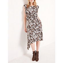 Buy AND/OR Floral Camo Jojo Dress, Khaki Online at johnlewis.com
