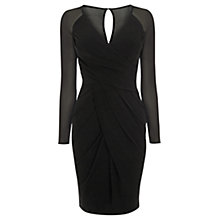 Buy Coast Jenn Jersey Dress, Black Online at johnlewis.com