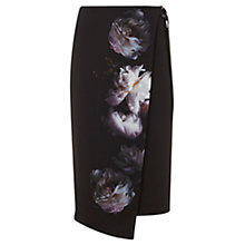Buy Mint Velvet Luna Print Wrap Skirt, Multi Online at johnlewis.com