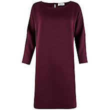 Buy Closet Cold Shoulder Tunic Dress, Plum Online at johnlewis.com