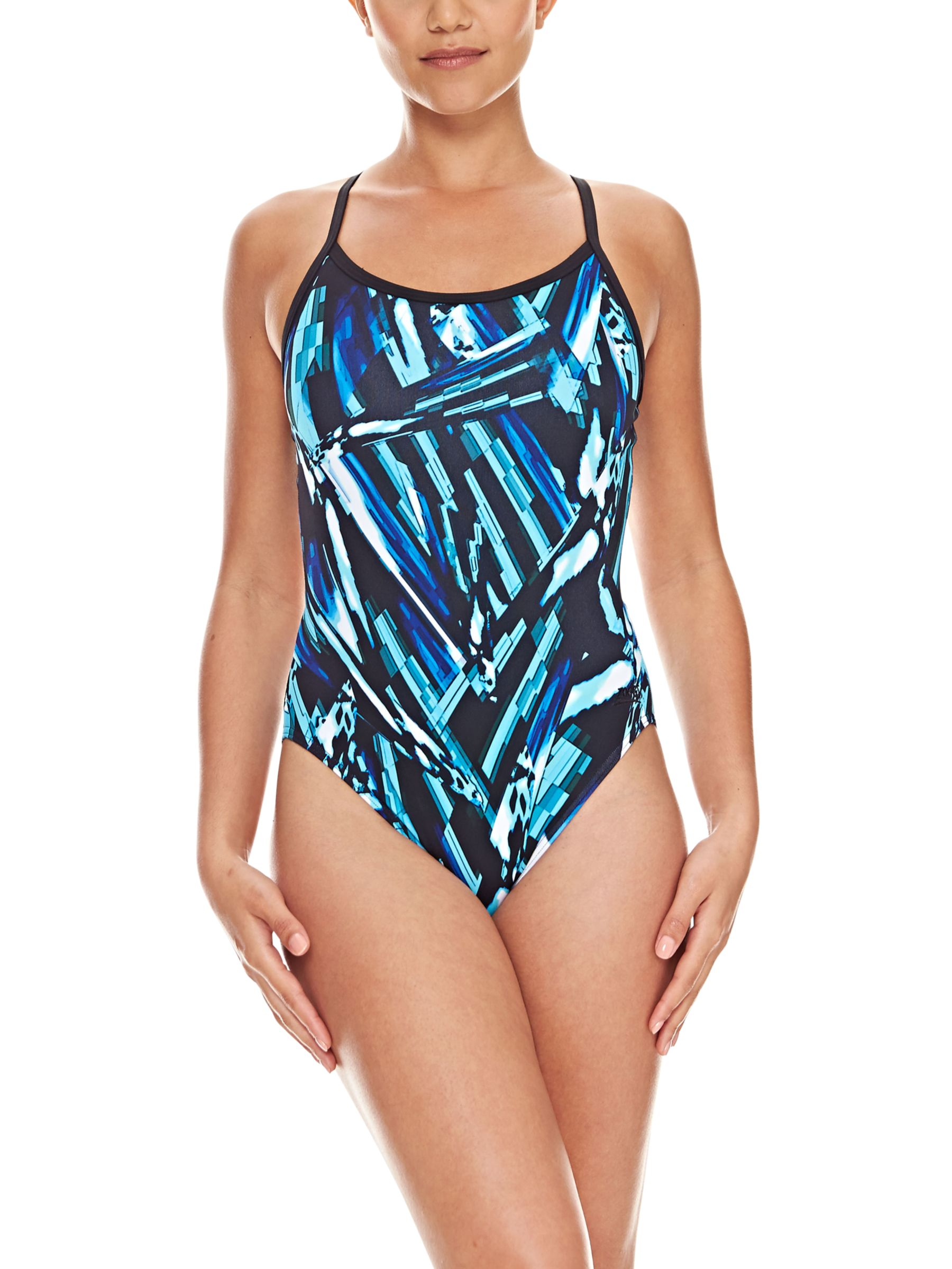 Zoggs Zoggs Broulee Sprintback Swimsuit, Green