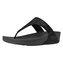 Buy FitFlop Shimmy Suede Toe Thong Sandals Online at johnlewis.com