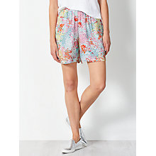 Buy Collection WEEKEND by John Lewis Confetti Floral Shorts, Pink/Yellow Online at johnlewis.com