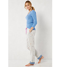 Buy White Stuff Gingham Pyjama Bottoms, Grey Online at johnlewis.com
