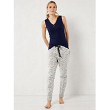 Buy White Stuff Tucked Up Jogger Bottoms, Grey Marl Online at johnlewis.com