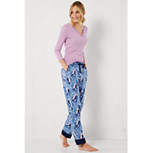 Buy White Stuff Winter Owls Pyjama Bottoms, Cornflower Blue Online at johnlewis.com
