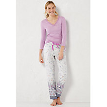 Buy White Stuff Whimsical Pyjama Bottoms, Comfort Cream Online at johnlewis.com
