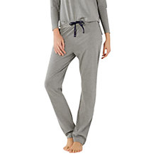 Buy White Stuff Hibernate Jersey Pyjama Bottoms, Charcoal Marl Online at johnlewis.com