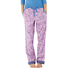 Buy White Stuff Flight Of Fancy Pyjama Bottoms, Pretty Pink Online at johnlewis.com