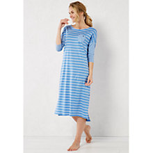 Buy White Stuff Winter Stripe Midi Night Dress Online at johnlewis.com