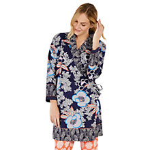 Buy White Stuff Blossom Flower Robe, French Navy Online at johnlewis.com