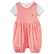 Buy Baby Joule Dolly Jersey Romper and T-Shirt Set, Pink/White Online at johnlewis.com
