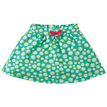 Buy Frugi Organic Girls' Floral Skorts, Green Online at johnlewis.com
