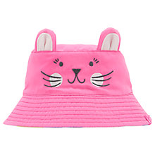 Buy Baby Joule Hattie Mouse Character Sun Hat, Pink Online at johnlewis.com