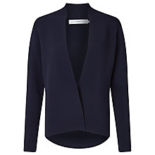 Buy John Lewis Eloise Ottoman Cardigan, Navy Online at johnlewis.com
