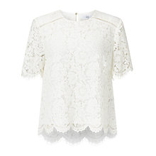 Buy John Lewis Camile Lace Shell Top Online at johnlewis.com