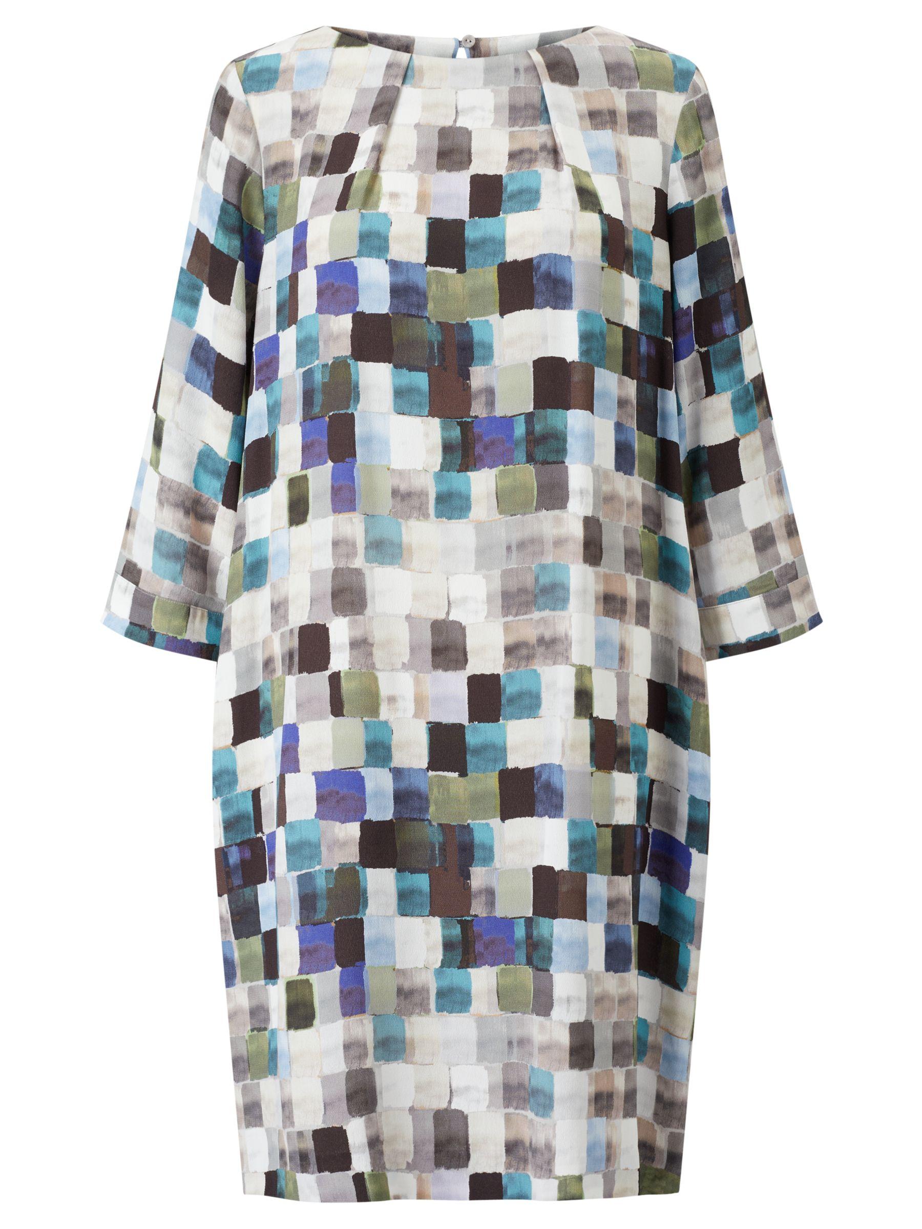 Kin by John Lewis Kin by John Lewis Painted Square Print Dress