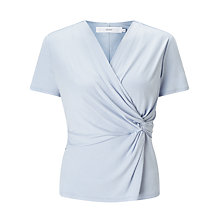 Buy John Lewis Double Front Twist Jersey Top Online at johnlewis.com