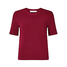 Buy John Lewis Isla Ottoman Knit Crew Neck Jumper Online at johnlewis.com
