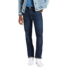 Buy Levi's 501 Trucker Original Straight Jeans, Indigo Online at johnlewis.com