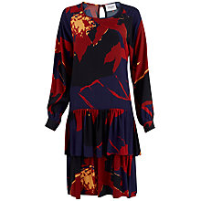 Buy Closet Drop Waist Tiered Dress, Multi Online at johnlewis.com