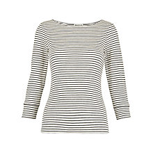 Buy Whistles Cotton Blend Top, Multi Online at johnlewis.com