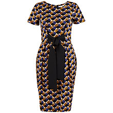 Buy Closet Geo Print Bow Tie Dress, Multi Online at johnlewis.com