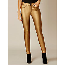 Buy Karen Millen Metallic Jeans Online at johnlewis.com