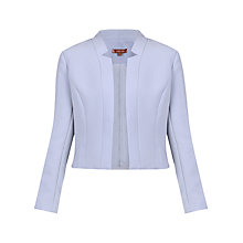 Buy Jolie Moi Open Front Work Blazer, Grey Online at johnlewis.com