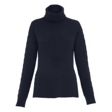 Buy Whistles Bo Cable Knit Trapeze Jumper Online at johnlewis.com