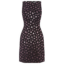 Buy Warehouse Star Jacquard Shift Dress, Multi Online at johnlewis.com