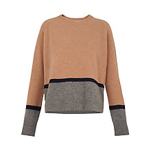 Buy Whistles Boiled Wool Sweater, Multi Online at johnlewis.com